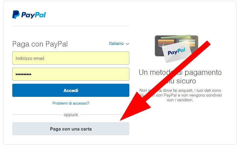 Risultato immagini per PayPal è il metodo semplice e sicuro per pagare